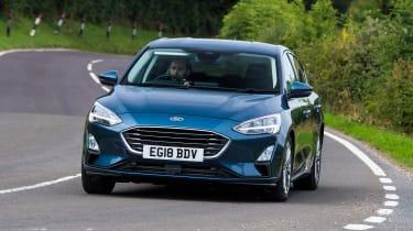 Ford Focus hatchback front cornering