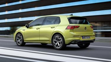 2020 Volkswagen Golf driving - rear left side