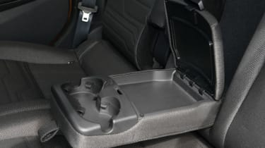 Ford Tourneo Connect MPV armrest drinks holder