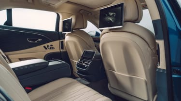 Bentley Continental Flying Spur saloon rear seat entertainment