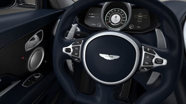 Aston Martin DBS Superleggera Concorde Edition steering wheel