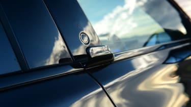Ford Mustang Mach-E - door buttons