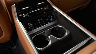 BMW 7 Series saloon console