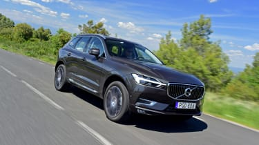 The XC60 is available with standard suspension, sports suspension (as fitted to the R-Design trim) or optional air suspension