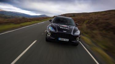 Aston Martin DBX prototype - front end