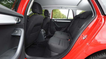 2017 Skoda Octavia Estate - rear seats