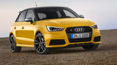 Audi S1 hatchback front quarter static