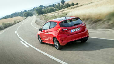 Ford boasts that the latest Fiesta has a 10 per cent increase in grip on the road