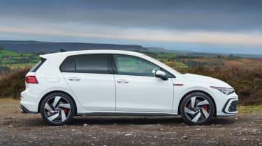 Volkswagen Golf GTI hatchback side static