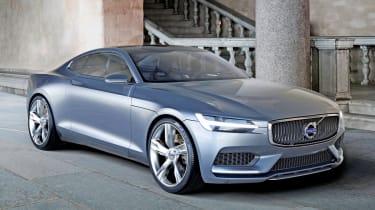 Volvo Concept Coupe 2013 front quarter static