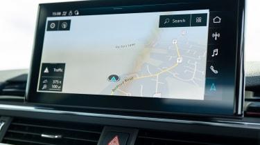 Audi A4 Avant estate infotainment display