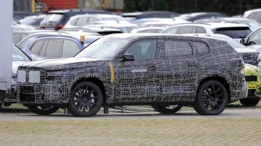 BMW X8 SUV in development