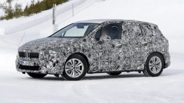 BMW 2 Series Active Tourer prototype - side view