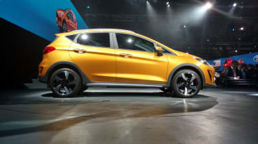 Three and five-door bodystyles will be offered, although the Active model is five-door only