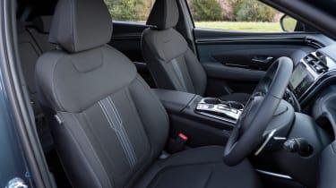 Hyundai Tucson SUV front seats