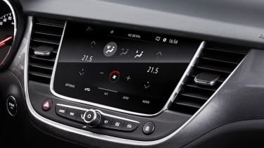 A touchscreen and Vauxhall's OnStar concierge service will be fitted as standard