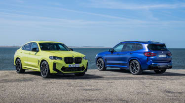 2021 BMW X3 M and X4 M static