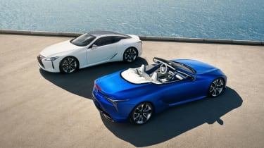 Lexus LC500 Convertible and coupe