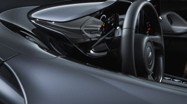 McLaren Elva interior detail