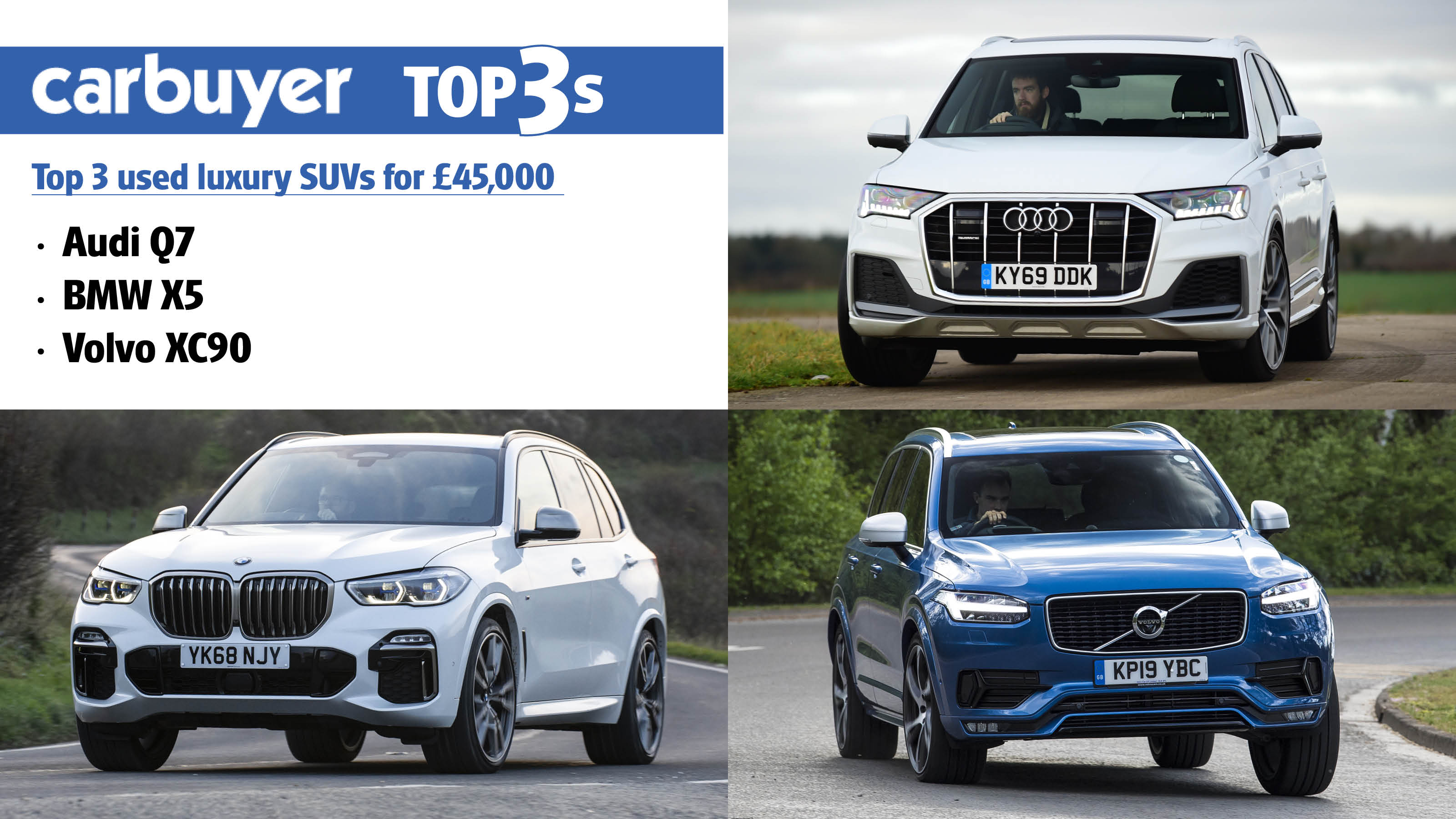 Top 3 Used Luxury Suvs For 45 000 Carbuyer