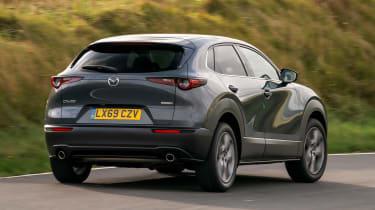 Mazda CX-30 SUV rear cornering