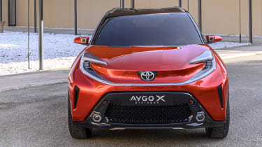 Toyota Aygo X Prologue front end