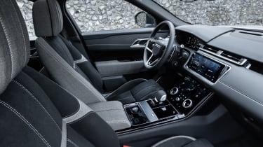 2021 Range Rover Velar P400e plug-in hybrid interior - side view