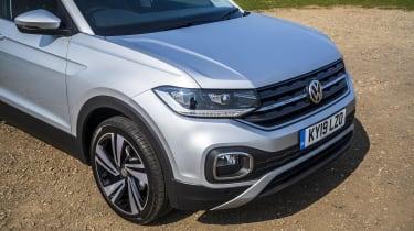 VW T-Cross front end