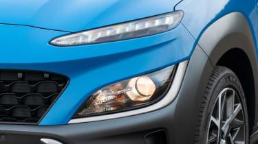 Hyundai Kona SUV headlights