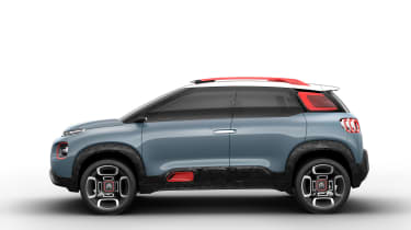 It features now-familiar styling cues, like those protective Airbumps