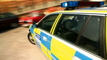 New driving fines 2013 police car image