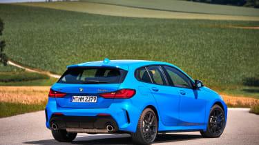 BMW M135i rear view