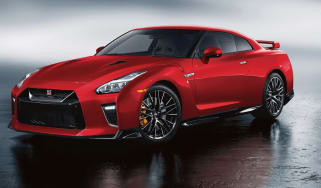 2020 Nissan GT-R - static front 3/4