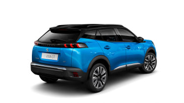 New Peugeot 2008 - rear 3/4 view