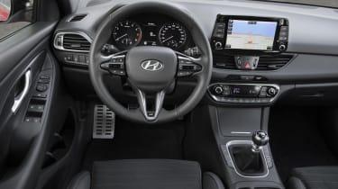 Hyundai i30 N dashboard view
