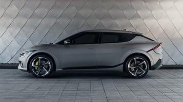 2021 Kia EV6 e-GT - side view