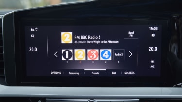 2021 Vauxhall Mokka - infotainment screen