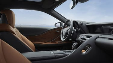 Lexus LC Limited Edition interior - side view