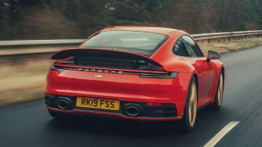 Porsche 911 coupe spoiler