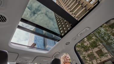2019 Ford Galaxy - panoramic sunroof in its opened position