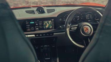 Porsche 911 coupe fascia