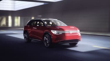 2021 Volkswagen ID. Roomzz - front quarter driving