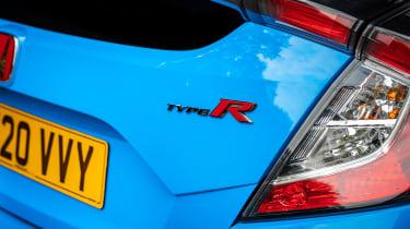 Honda Civic Type R rear badge