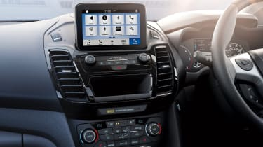 Ford Tourneo Connect MPV SYNC 3 touchscreen (an optional extra)