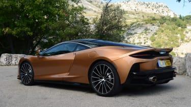 McLaren GT rear view - static