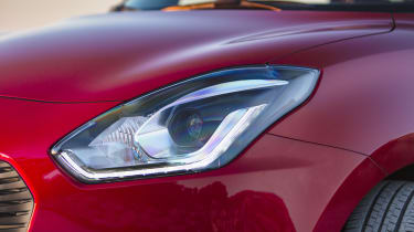 Choose the top SZ5 trim level and LED headlights are included