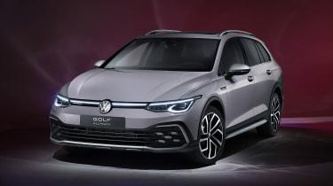 2020 Volkswagen Golf Estate Alltrack front view