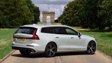 Volvo V60 estate rear 3/4 static