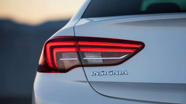 The rear lights have been designed to emphasise the car's width