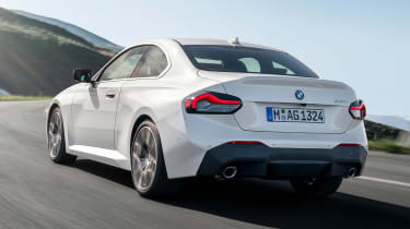 2021 BMW 2 Series Coupe M Sport - rear 3/4